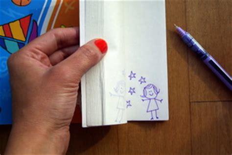 How To Make A Paper Flip Book - make a flip book diy
