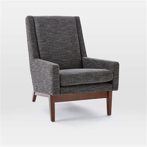 wood frame armchair faceted wood frame armchair west elm