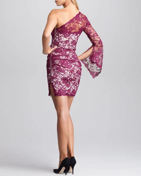 Lotus Lace Dress emilio pucci one shoulder lace overlay dress lotus