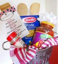 Pasta basket do it yourself gifts pinterest