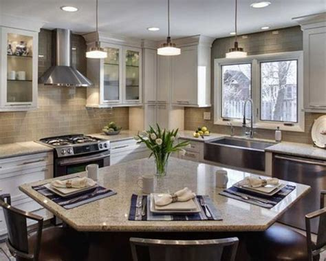 l shaped island small l shaped kitchens kitchens with islands and l