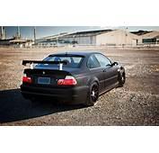Download Wallpapers BMW M3 4k Matte Black E46 Road