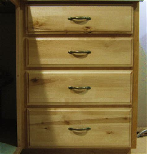 Types Of Drawer Fronts by Solid Wood Drawer Fronts Building And Installing Them On