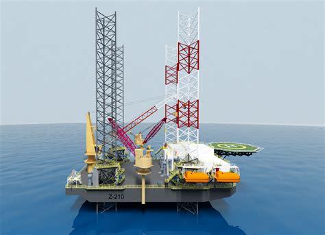 boat lift oil z 210 liftboat mobile offshore drilling unit design zentech