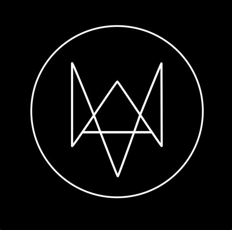 watch dogs logo vector by darsephtan logos geometric