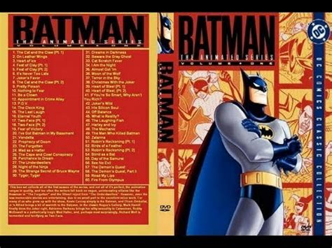 The Series Volume 1 batman the animated series volume one dvd review