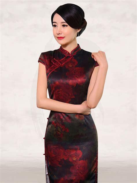 Mandarin Collar Sleeve Dress floral vintage cap sleeve mandarin collar dress