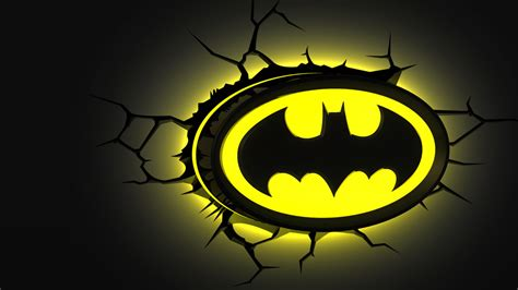 Lego Wall Stickers batman emblem 3dlightfx