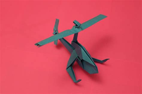 A Paper Helicopter - how to make a cool paper helicopter origami