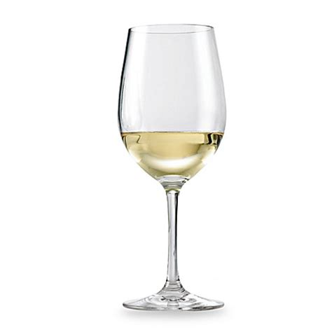 bed bath and beyond glasses wine enthusiast break free polycarb chardonnay wine
