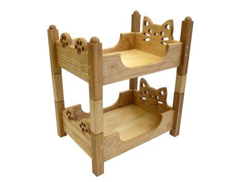 cat bunk beds time in heart rakuten global market wooden bed new