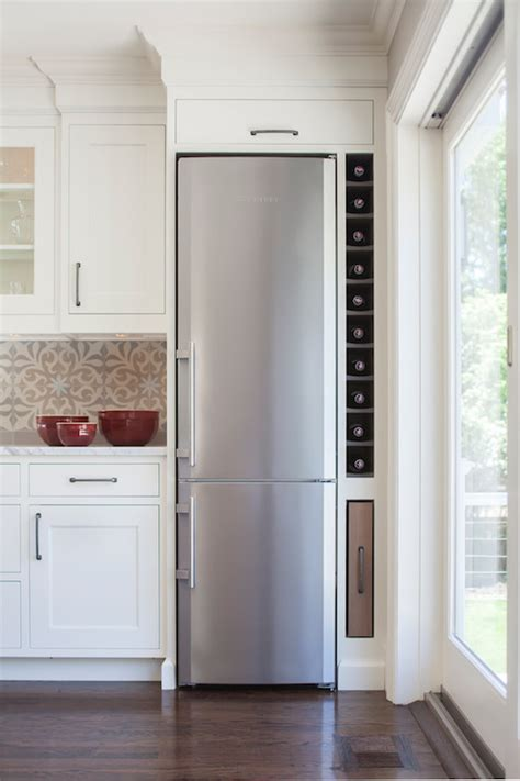 Overstock Dining Room Sets by Space Saving Refrigerator Transitional Kitchen