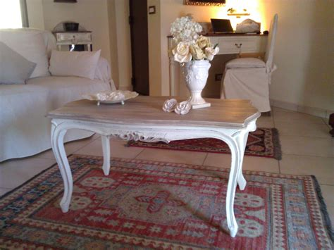 tavoli stile shabby tavolino da salotto in stile shabby chic il