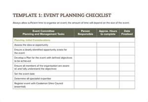 sle calendar of events template 28 simple event checklist event checklist template 11