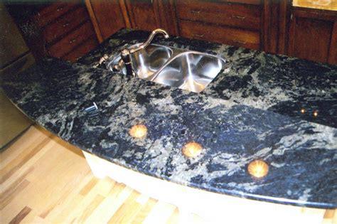 Lapis Granite Countertop by Showcase All South Granite Llc