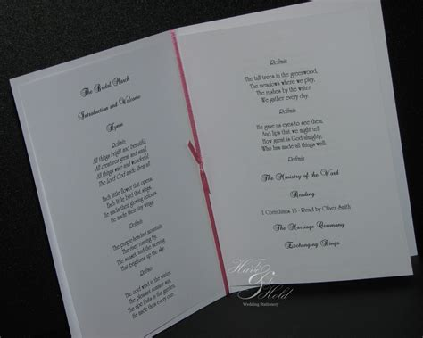 plain and simple wedding invitations uk plain order of service to and to hold wedding