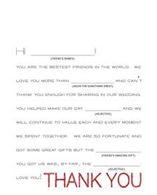 wedding thank you cards easy how to write wedding thank