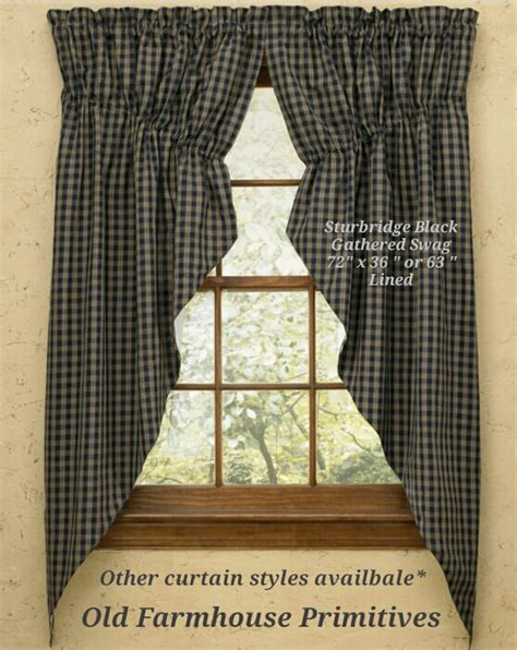 Primitive Country Curtains Primitive Country Curtains