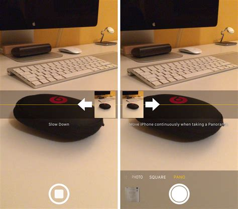 panorama mode how to switch panorama mode direction