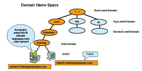 pengertian  penjelasan dns domain  server