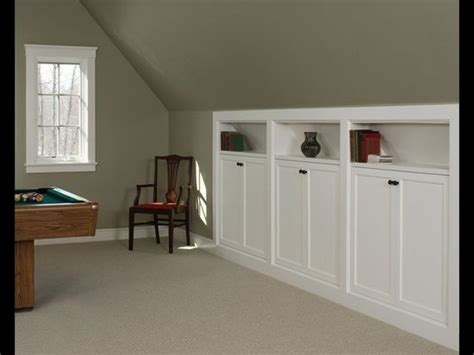 above garage bonus room ideas garage kneewall storage built ins great for garage