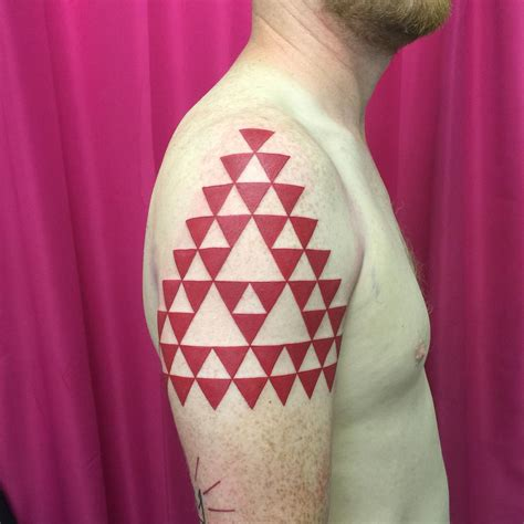 triangle tattoo 65 best triangle designs meanings sacred