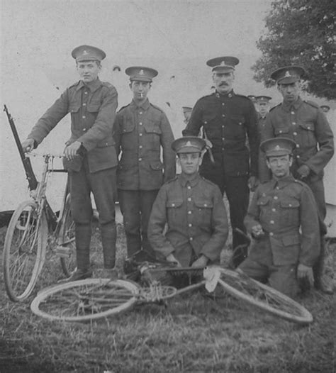 World War 1 Records Army Cyclist Corps World War One Photos Obituaries Service Records