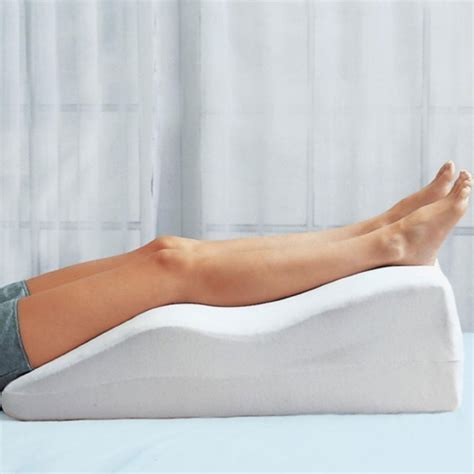Pillow To Raise Legs by Leg Elevation Pillow In Support Pillows