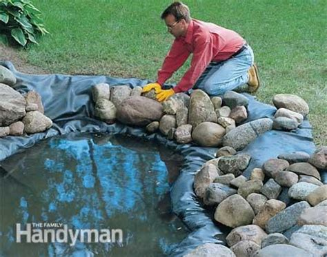 how to build a backyard pond and waterfall how to build a water garden with waterfall the family
