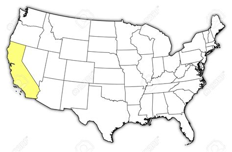 us map with certain states highlighted united states map california thempfa org