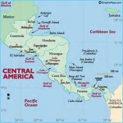 maps map of central and south america central america map belize central america