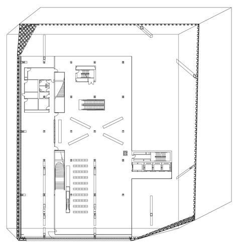 seattle library floor plans gallery of seattle central library oma lmn 51