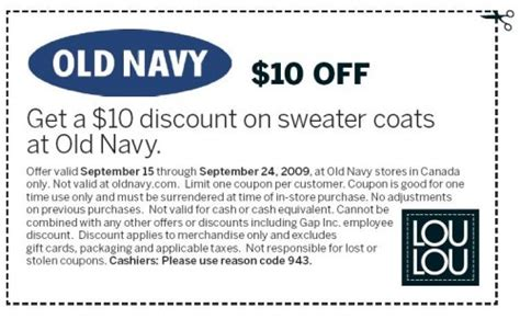 old navy coupons 10 off 50 at old navy old navy canada 10 off sweater coats coupon sept 15 24