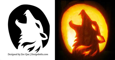 free pumpkin carving templates 10 free scary cool pumpkin carving stencils