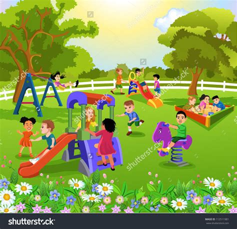 s day in the park outside clipart children park pencil and in color