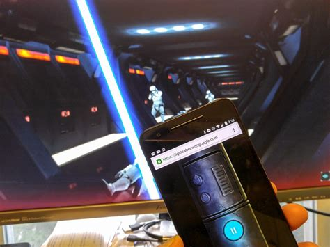 wars android s new wars turns your phone into a lightsaber android central
