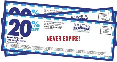 Bed And Bath Beyond Coupons by Bed Bath And Beyond Printable Coupon