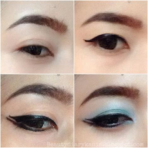 Eyeliner Gel Wardah Waterproof diary kania review wardah eye expert series