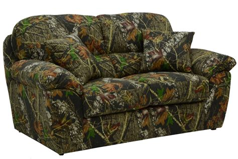 realtree camo sectional cumberland 2 sofa set in mossy oak or realtree