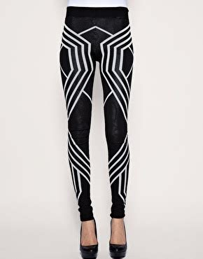 asos patterned leggings urban scribble november 2010