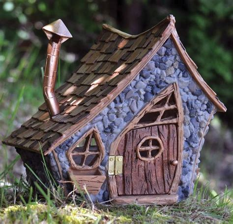 fairy homes shingletown large pitched roof fairy house door opens