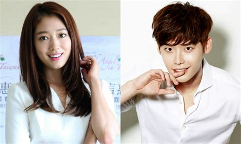 film lee jong suk terbaik park shin hye speaks up about the dating rumors with lee