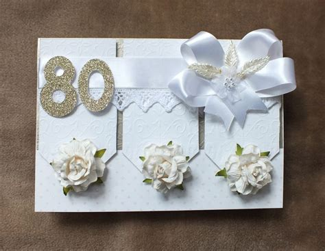Handmade 80th Birthday Cards - 25 best images about 80th birthday cards on