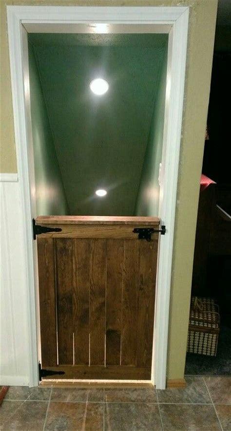 Door Gate Baby Woodworking Projects Plans Half Barn Door