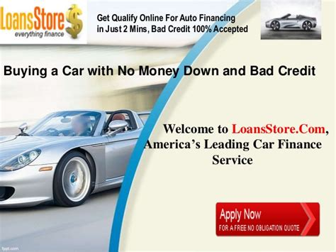 buy a house bad credit no money down buying a car with no money down and bad credit