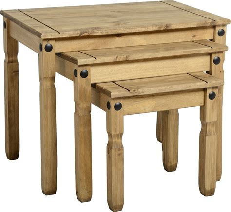 Table Corona by Corona Pine Furniture Living Room Mexican Solid Wood Tv