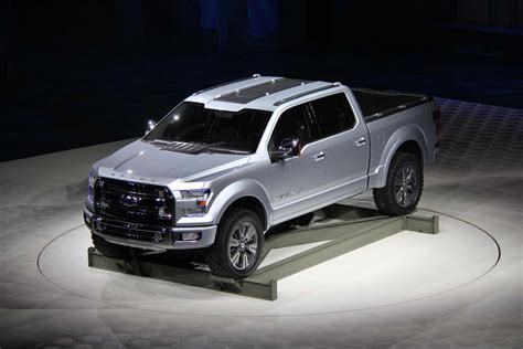 Ford Atlas Concept Ford S Atlas Concept Signals Plan For Next F 150