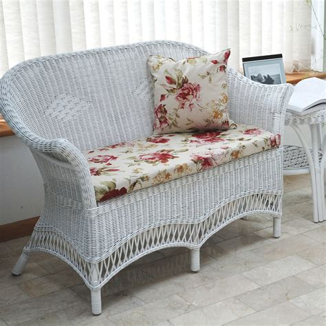 wicker settee furniture wicker sunroom furniture