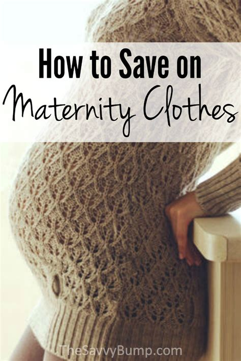 7 Tips On Saving Money On Clothes by How To Save On Maternity Clothes Affordable Maternity