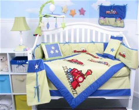 train crib bedding choo choo train baby boy crib nursery bedding set 15pcs